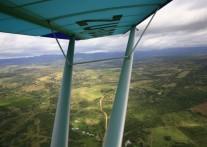 南アフリカの空中飛行アドベンチャー