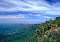 パノラマルート観光のハイライト ゴッズ・ウィンドウ(神の窓)