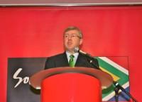 南アフリカ観光大臣との昼食会