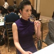 南アフリカ観光親善大使 女優 高橋ひとみさん 「第4回サクラアワード」ワイン審査会へ参加