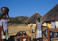 リンポポ州に暮らす聖なる部族 ヴェンダ族の伝統文化