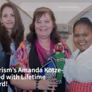 南アフリカ観光局 アマンダ・コッツェ・ンラポが特別功労賞を受賞